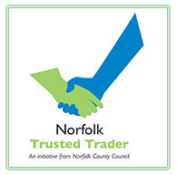 norfolk council trusted trader logo